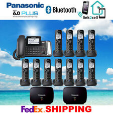 PANASONIC KX-TG9582B 2-LINE 1 CORDED - 11 CORDLESS PHONES - 2 REPEATERS - NEW