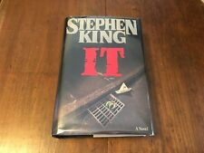 IT by Stephen King  - 1986 1st Edition First Printing - HC/DJ