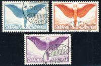 SCHWEIZ 1924, MiNr. 189-191 x, 189-91 x, sauber gestempelt, Mi. 150,-