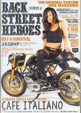 BACK STREET HEROES  No.378 October 2015 (NEW COPY)
