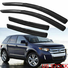 FOR FORD EDGE 2007 2008 09-12 SMOKE WINDOW VISOR/WIND DEFLECTOR VENT RAIN GUARD