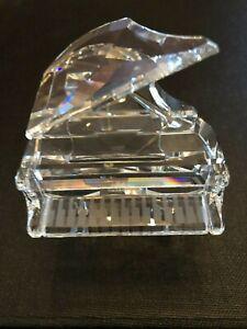 Swarovski Crystal Grand Piano Figurine missing Stool