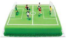 Backform Sportplatz + Spieler / Spielfeld Fußballfeld incl. Fussballspieler