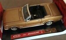 "1964 Ford Mustang Convertible 289 1/18"" Scale Die Cast by Mira (JVE:280)"