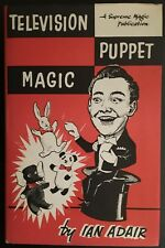 Television Puppet Magic (Limited/Out of Print) by Ian Adair - Magic Book - Hb