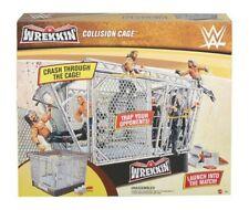 WWE Wrekkin Collision Steel Cage Ring - In Hand NEW!!!!