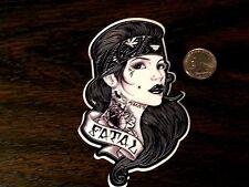 SO CAL FATAL Snappy Pin Up Girl Sticker Car Window Decal WestCoast Crew Tattoo