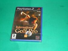 INTERNATIONAL GOLF PRO PLAYSTATION 2