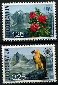 Yugoslavia 1970 SG#1444-5 Bird,Nature Conservation Year MNH Set Cat £17+ #D77438