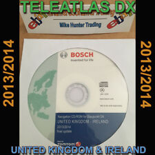 TELEATLAS DX 2014 SAT NAV DISC UK BLAUPUNKT BNS4 RNS4 DX-V DX-N DX-R70 GOLF AUDI
