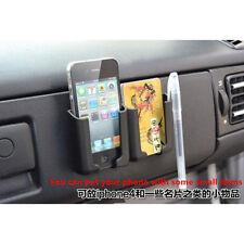 1x Car Phone adjustable bracket Multi-purpose Good Black Accessories Holder Card