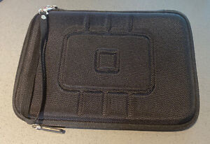 iPad Mini Case Pouch Black Zip Up