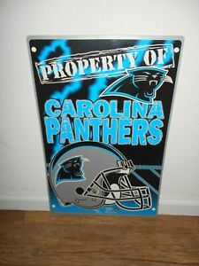 Carolina Panthers 12 1/2 x 19 Wall Hanging