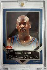 2002-2003 FLEER Michael Jordan PLATINUM PORTRAITS #15, INSERT