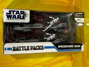 Star Wars - The Clone Wars - Speeder Bike Recon