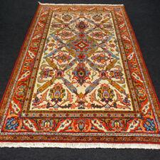 Türkischer Orient Teppich 185 x 118 cm Uschak Alt Beige Turkish Ushak Oushak Rug