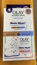 6x Olay Natural White Cream,brightening Light Night Skin care,Sunblock,Smooth.
