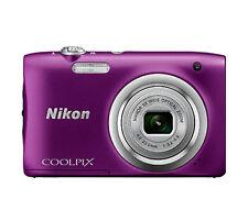 Camara Nikon Coolpix A100 Violetapalo selfie