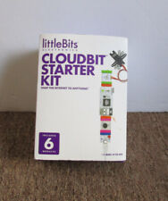 Little Bits Electronics Cloudbit Starter Kit 6 Modules - New