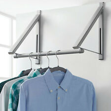 Clothes Rack Over The Door Valet Collapsible Metal Garment Laundry Hanging
