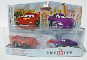 NEW Sealed Disney Infinity 1 Lightning McQueen Holley Shiftwell Cars Double Pack