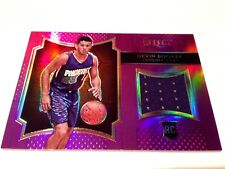Devin Booker 2015/16 Panini Select RC Purple Refractor GW Jersey Card #/99 Suns
