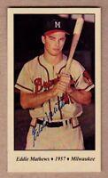 Eddie Mathews '57 Milwaukee Braves, world champions Tobacco Road series #36