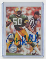 1991 PACKERS Johnny Holland signed card AUTO Pro Set Platinum #190 Autographed