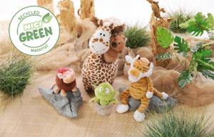 NICI Plüsch Wild Friends Giraffe, Tiger, Quokka, Elefantenmaus, Pflanze Auswahl