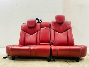 #44 ALFA ROMEO GT INTERIOR RED LEATHER SEATS COMPLETE FULL SET