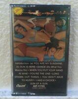 Sun - Sunburn Cassette Tape Rare OOP Funk Soul Disco Capitol Records 1978