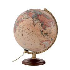 Atmosphere  Globo terráqueo con esfera de madera y metal castellano 30 cm Beige