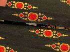 Vintage Embroidered Jacquard Ribbon 1/2