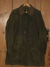 Barbour Beaufort Jacket Wax Classic softly worn in  large inside pocket  42""
