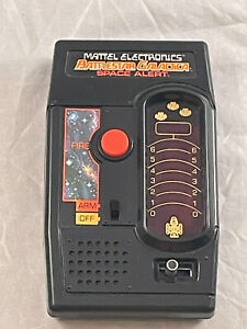 Vtg 1978 Mattel Electronics Battlestar Galactica Space Alert Handheld Game-EB139