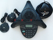 Avaya / Nortel 2033 IP Conference Phone Telephone & Mics - Inc VAT & Warranty -