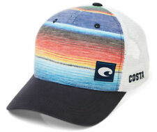 BRAND NEW COSTA DEL MAR BAJA STRIPE MESH  ADJUSTABLE CAP HAT