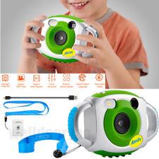 "AMKOV Mini Digital Camera 1.44"" Color LCD 5MP 4x Zoom for Children Kids Gift"