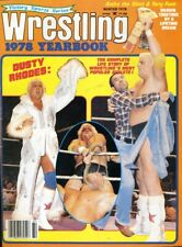 DUSTY RHODES Wrestling Yearbook Magazine Winter 1978 ANDRE THE GIANT/TERRY FUNK
