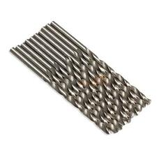 10pcs 3mm Micro Metal HSS Twist  Drilling Auger Bit For Electric Drill New