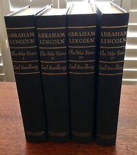 Lincoln: The War Years, 4 Vols., Sandburg