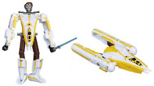 Star Wars Transformers Anakin Skywalker Y-wing Fighter Bomber Action Figure