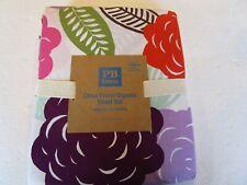 Pottery Barn Teen Chloe Floral Organic Sheet Set full   New
