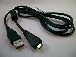 SONY CYBERSHOT DSC-W560 / DSC-W570  CAMERA USB DATA SYNC /PHOTO TRANSFER CABLE