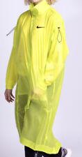 Nike Nsw Neon Yellow Swoosh Loose Fit Long Jacket Light Wear