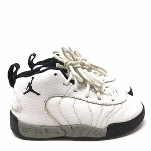 Jordan Jumpman Pro BT White Black Grey Toddler Size 9c Boys Sneakers