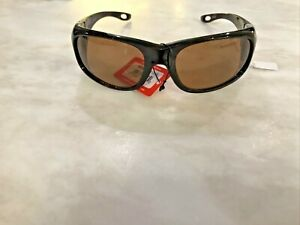 Fisherman Eyewear Grander Original Polarized Sunglasses Tortoise Frame Brown