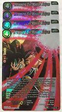 Bandai Dragon Ball Super CCG DBZ 4x Increasing Evil Masked Saiyan PROMO P-029