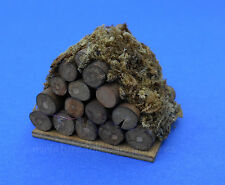 Miniature Dollhouse Stack of Fireplace Logs 1:12 Scale New