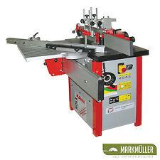 Holzmann Tischfräsmaschine FS 200 mit Schleifaufsatz Fräsmaschine Tischfräse